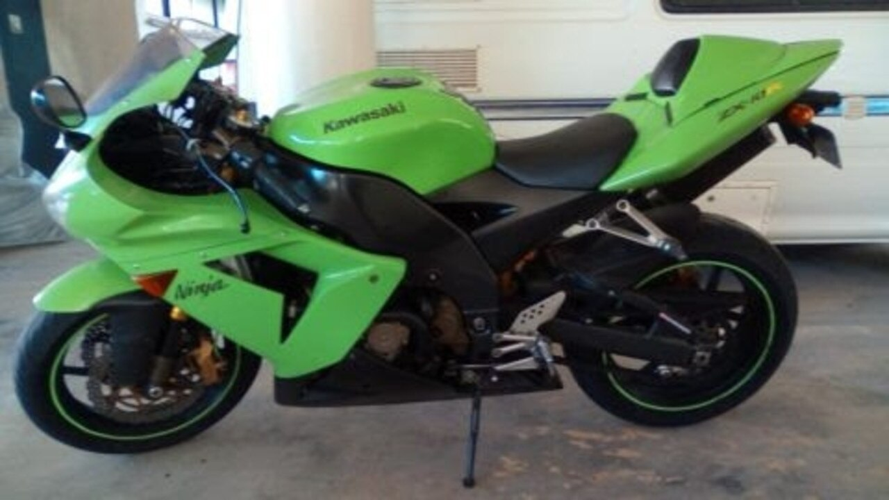 STOLEN: A green, 2004 Kawasaki ZX was stolen from a complex car park on Golden Orchid Drive, Airlie Beach, shortly after 8.30pm on February 27.