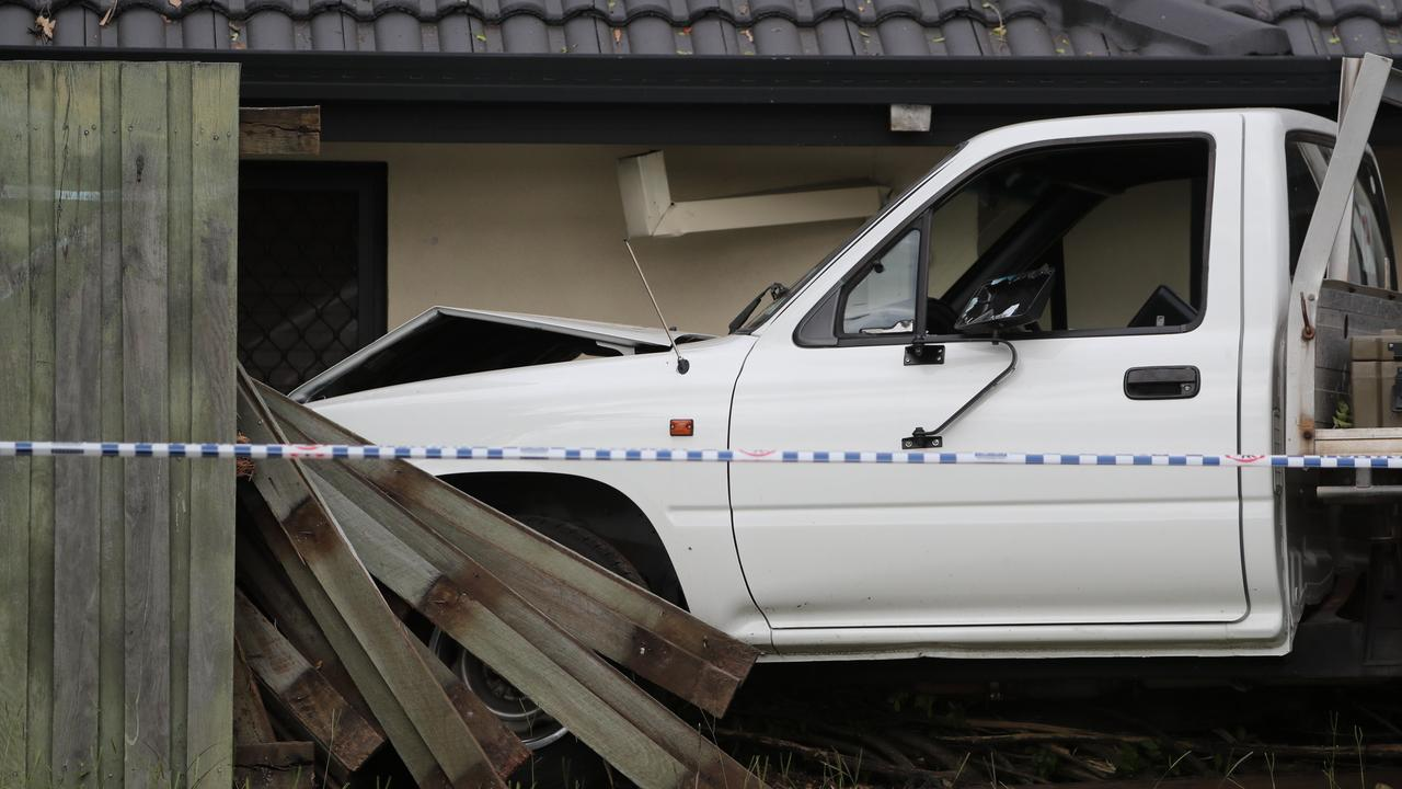 A boy remains in hospital after being hit by a ute that then crashed into a fence at Parkinson.