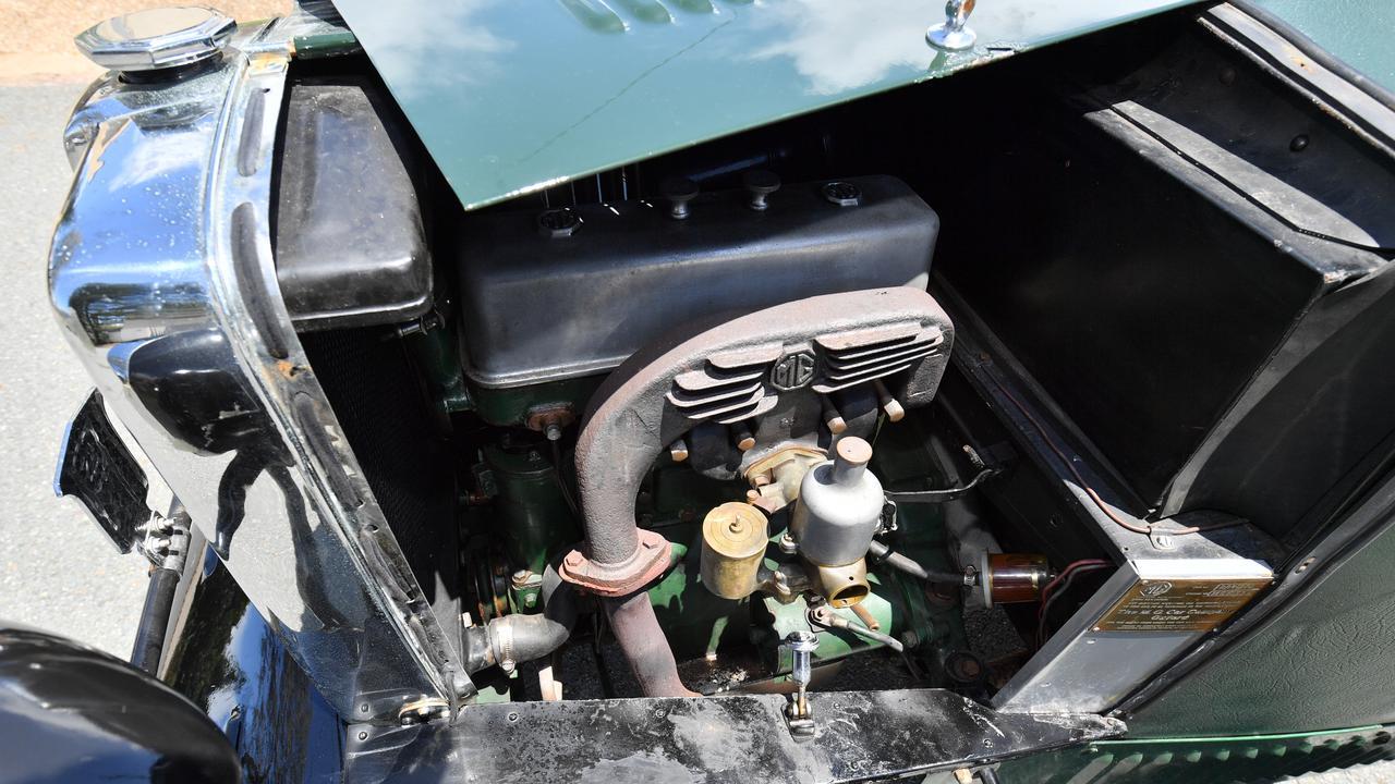 The MG M Type Midget fabric-body sports car, built in 1929. Photo: John McCutcheon / Sunshine Coast Daily