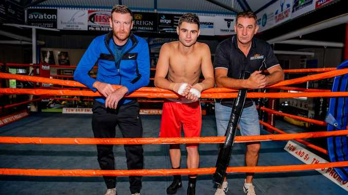 Taking first swing ahead of pro debut