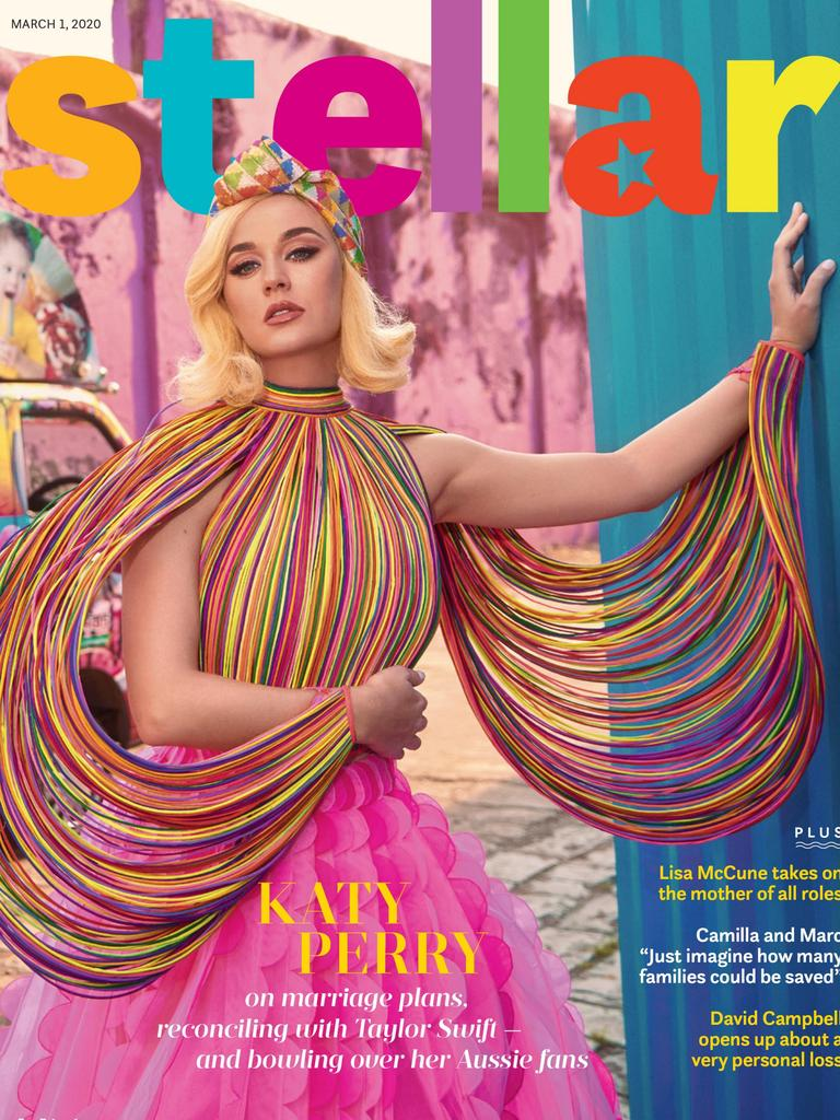 Katy Perry is the cover star of this Sunday's Stellar.