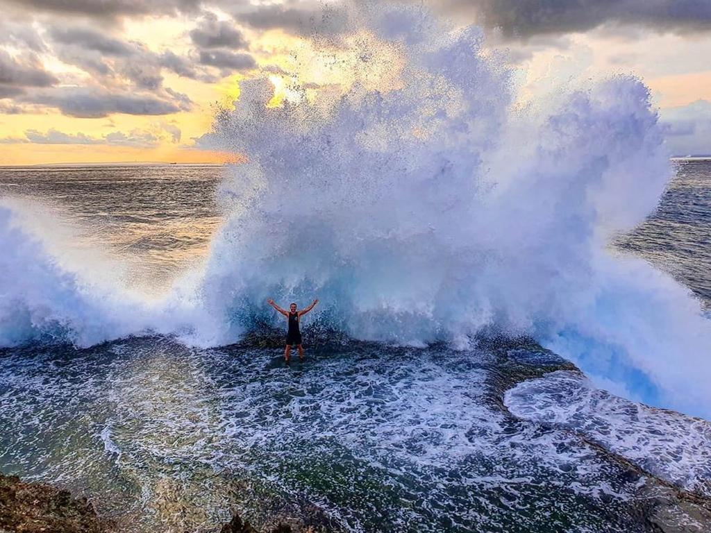 Devil's Tears Bay, Nusa Lembongan @iamjasonshaw No matter where I end up, I will always drift towards the sea. Picture: Supplied