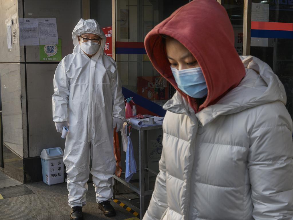 China has continued to lock down the city of Wuhan, the epicentre of the virus, in an effort to contain the spread of the pneumonia-like disease. Pictures: Kevin Frayer/Getty Images.