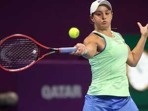 Barty beaten in WTA's biggest rivalry