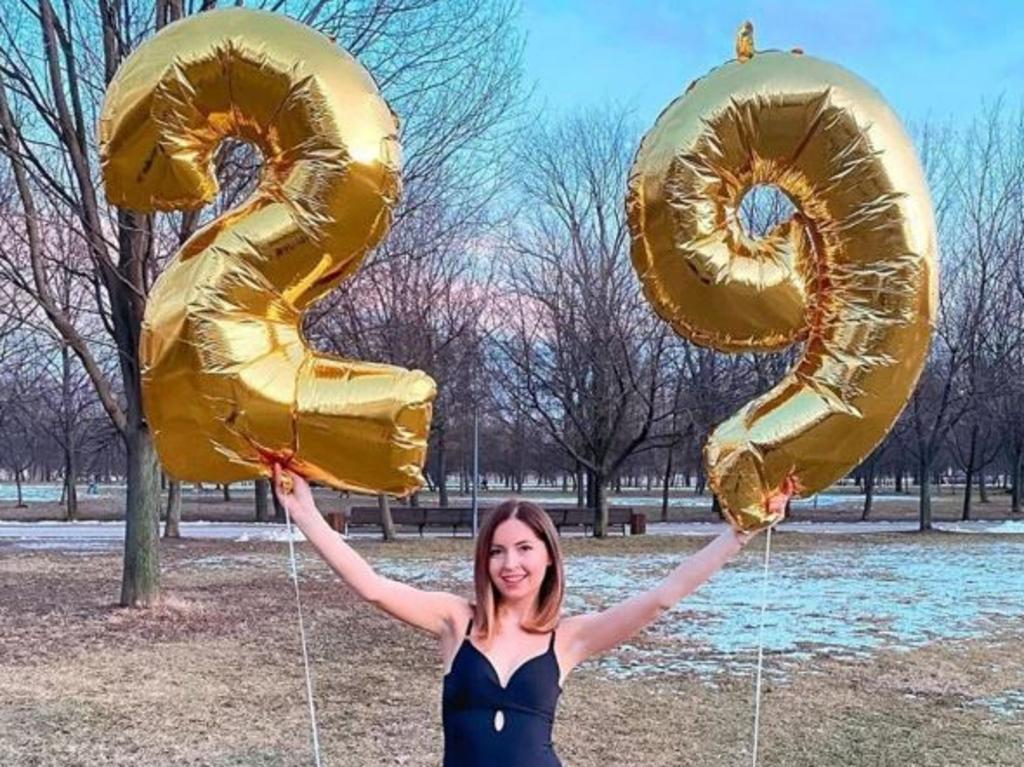 Ekaterina Didenko was celebrating her 29th birthday. Picture: Instagram