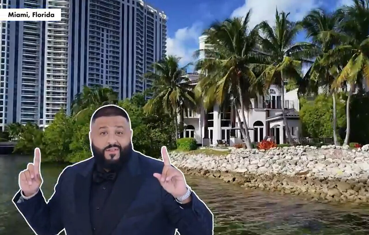 After sitting on the market for over a year, music mogul and proud new dad DJ Khaled has dropped the price of his stunning five-bedroom Miami property.