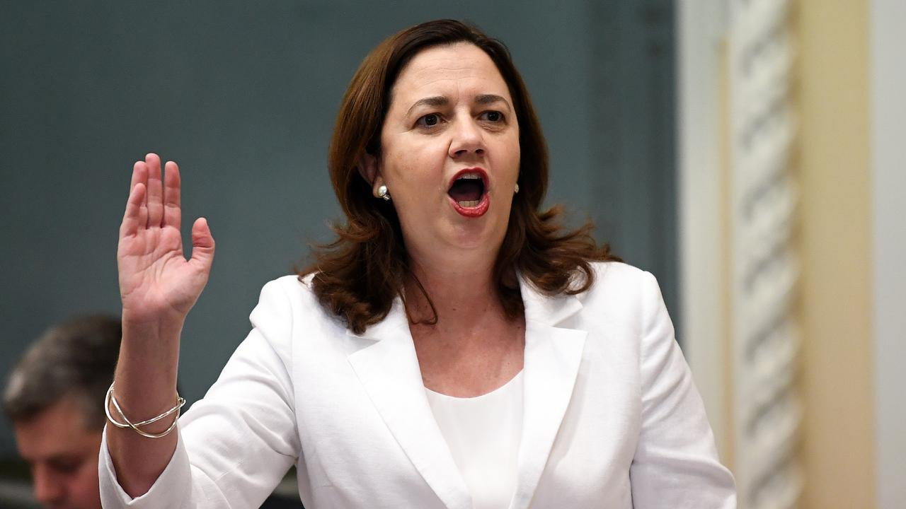 Queensland Premier Annastacia Palaszczuk intervened following The Sunday Mail's story on women waiting eight years for breast surgery after cancer. Picture: AAP/Dan Peled