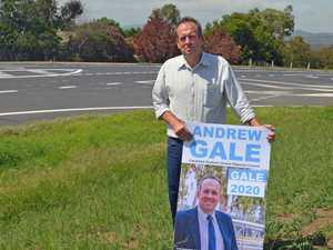 First 'sign' of trouble as election vandalism begins