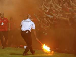Flare up: 'Capo' ejected as RBB face sanctions