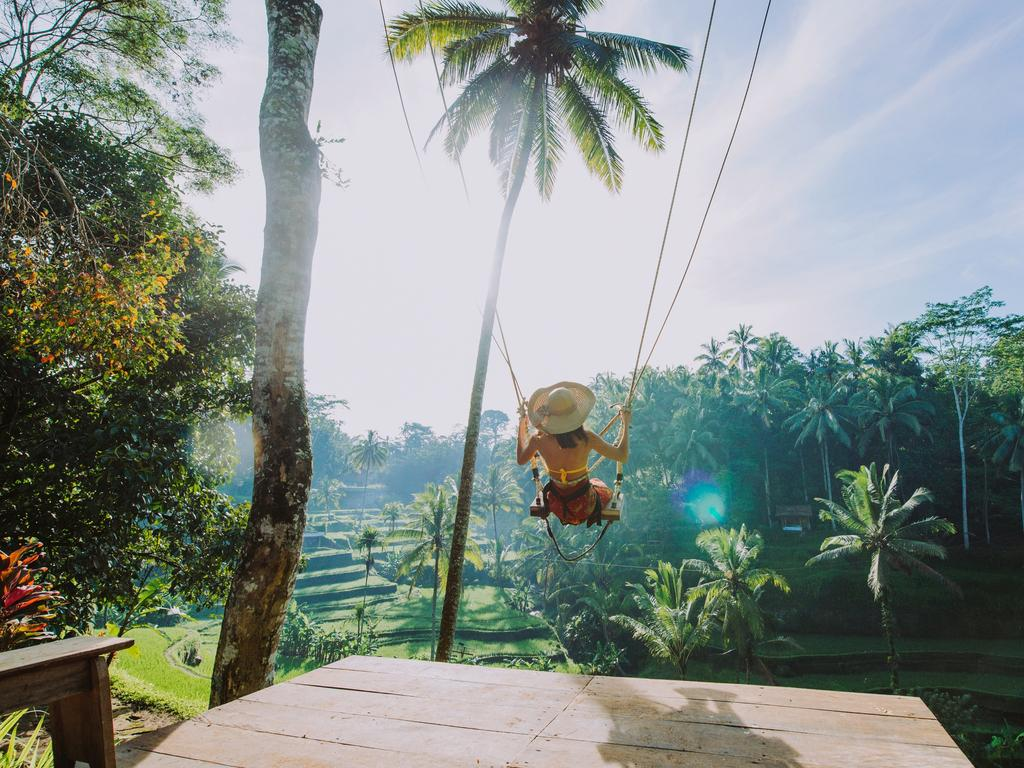 The swing has previously claimed the life of a Frenchman who fell 15m. Picture: Supplied