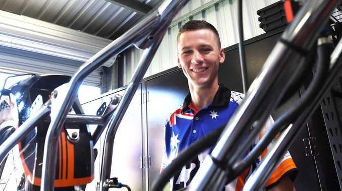 Rockhampton speedway rider living the dream