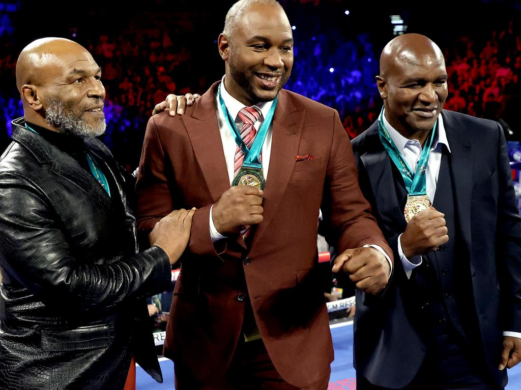 Mike Tyson, Lennox Lewis and Evander Holyfield were a golden age for the heavyweight division.