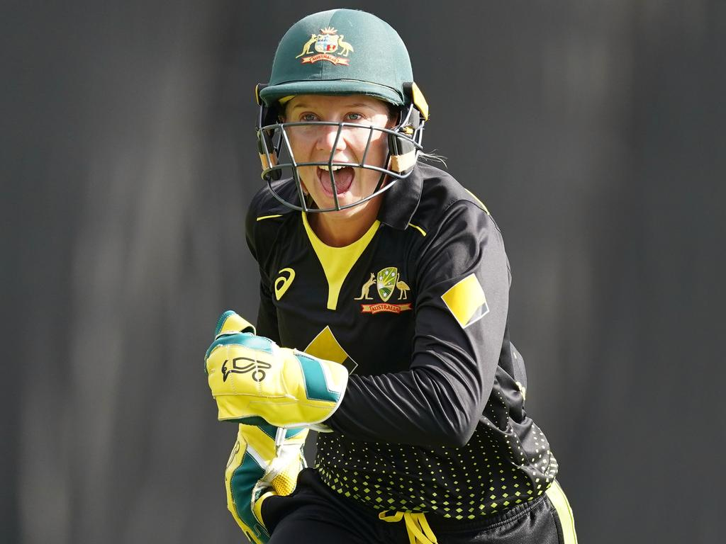 'The right things to show the next generation' … Alyssa Healy.