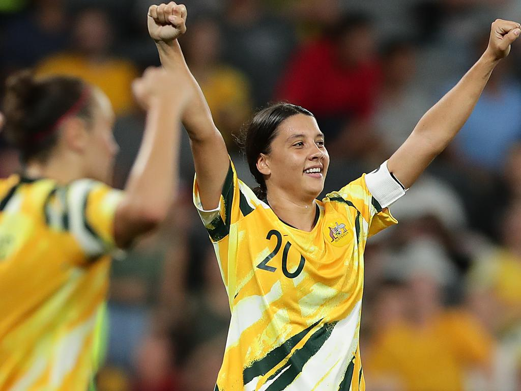 Thinking of the younger generation … Sam Kerr.