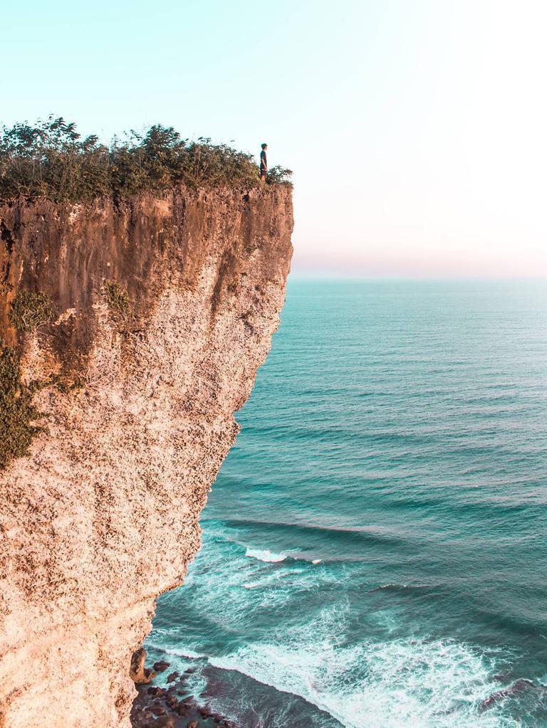 The Pecatu cliff. Picture @anggasant T