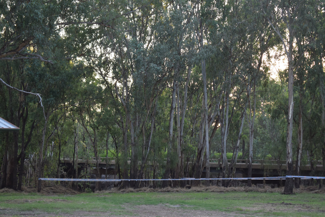 A section of bushland at the Chinchilla Weir has been sectioned off.