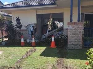 Noosa aged care resident drives through front window