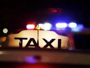 'Terrified': Taxi driver threatened with spear, knife
