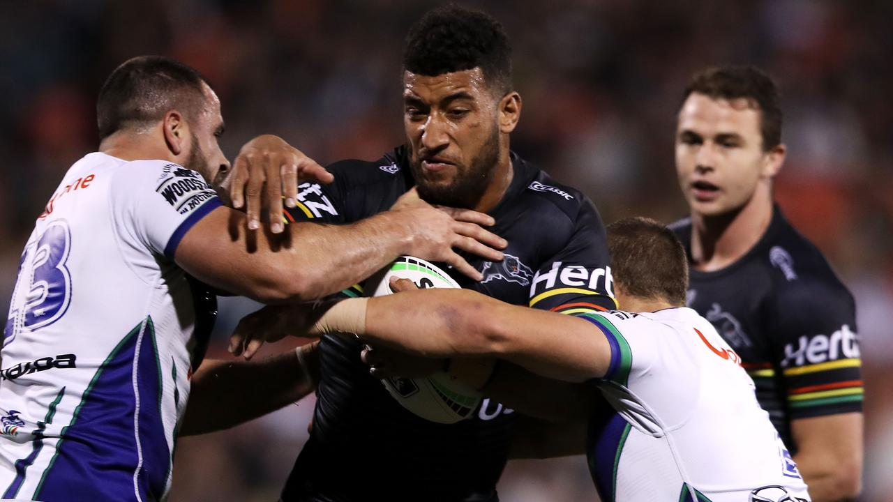 Viliame Kikau could go to another level in 2020. Picture: Mark Kolbe/Getty Images