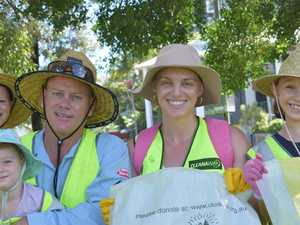 Young ecowarriors clean up Gladstone