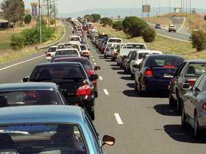 Serious multi-vehicle crash causing delays