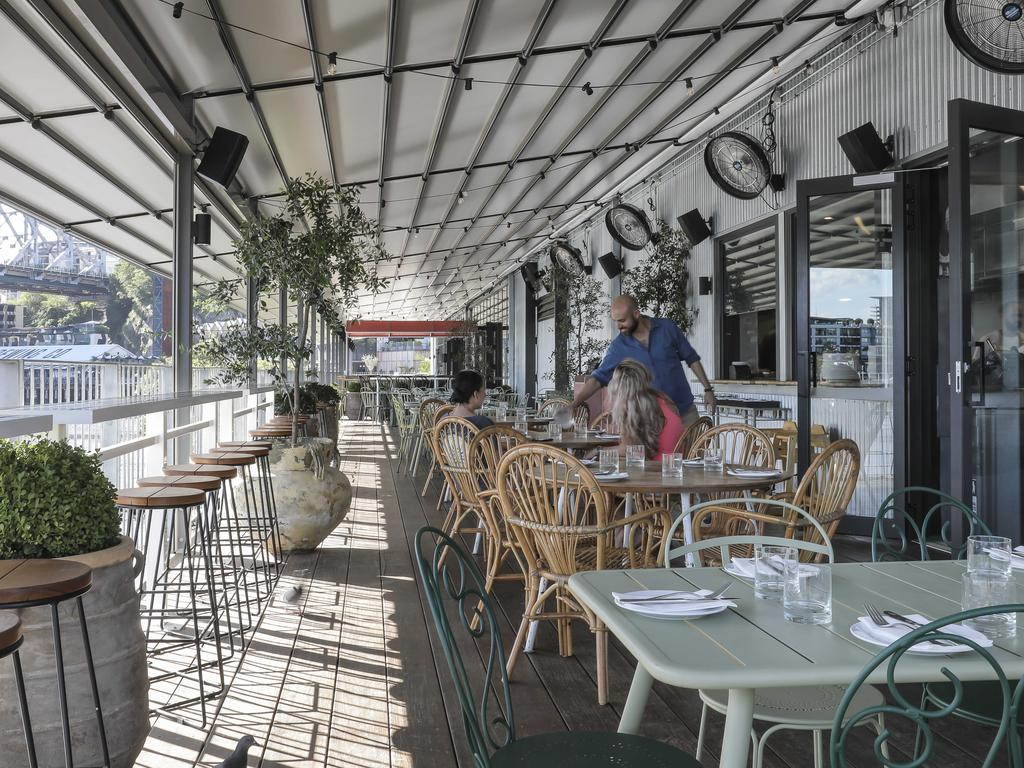 Ciao Papi in Brisbane City, is looking at bringing in a new kids menu.. Picture: Mark Cranitch