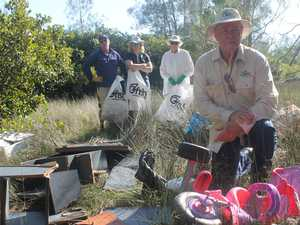 740kg of rubbish dumped at Ballina creek