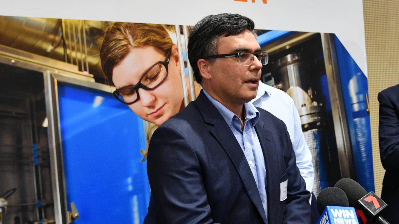 Australian Gas Infrastructure Group advisor Vikram Singh at the Gladstone Hydrogen Forum last week