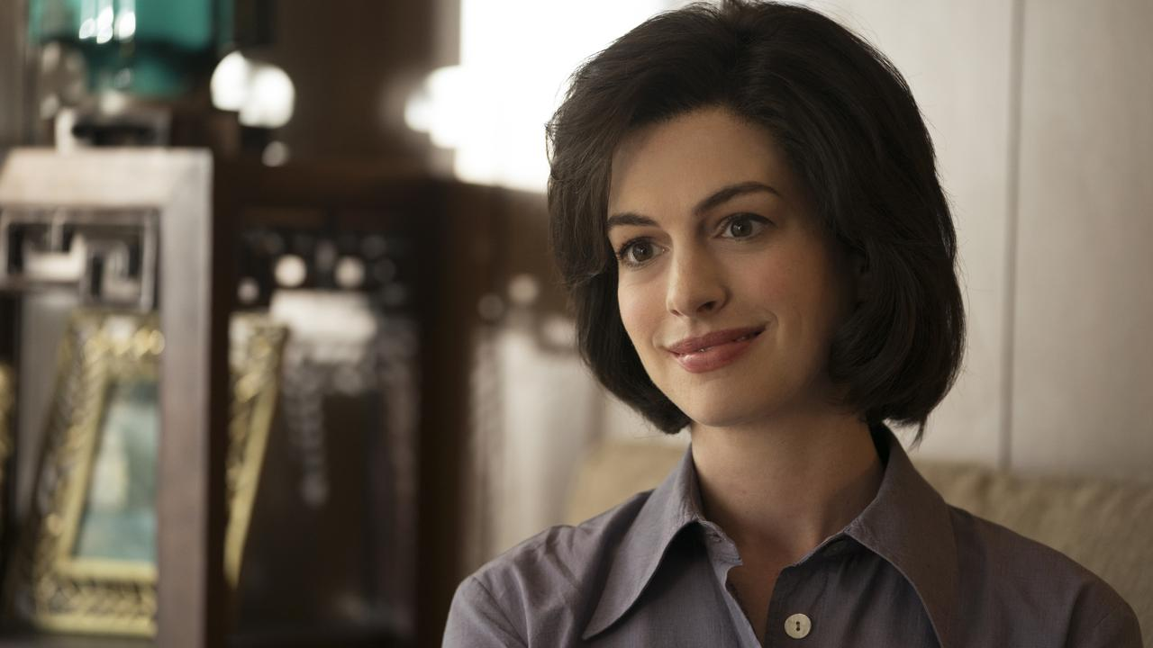 Anne Hathaway as Sarah Barlage in Dark Waters.