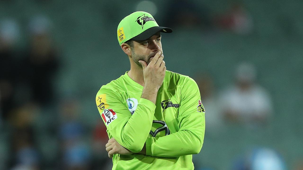 The Sydney Thunder, captained by Callum Ferguson, snuck into the finals in fifth place this summer. Picture: Getty