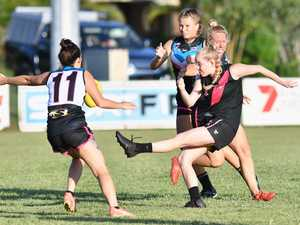 Wide Bay Womens AFL - Bombers v Bay Power february 29