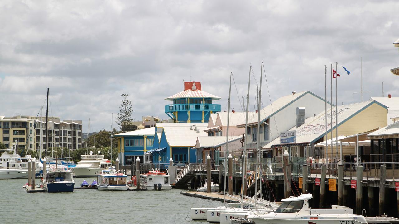 Mooloolah River looking towards The Wharf Mooloolaba. Photo: Brett Wortman / Sunshine Coast Daily