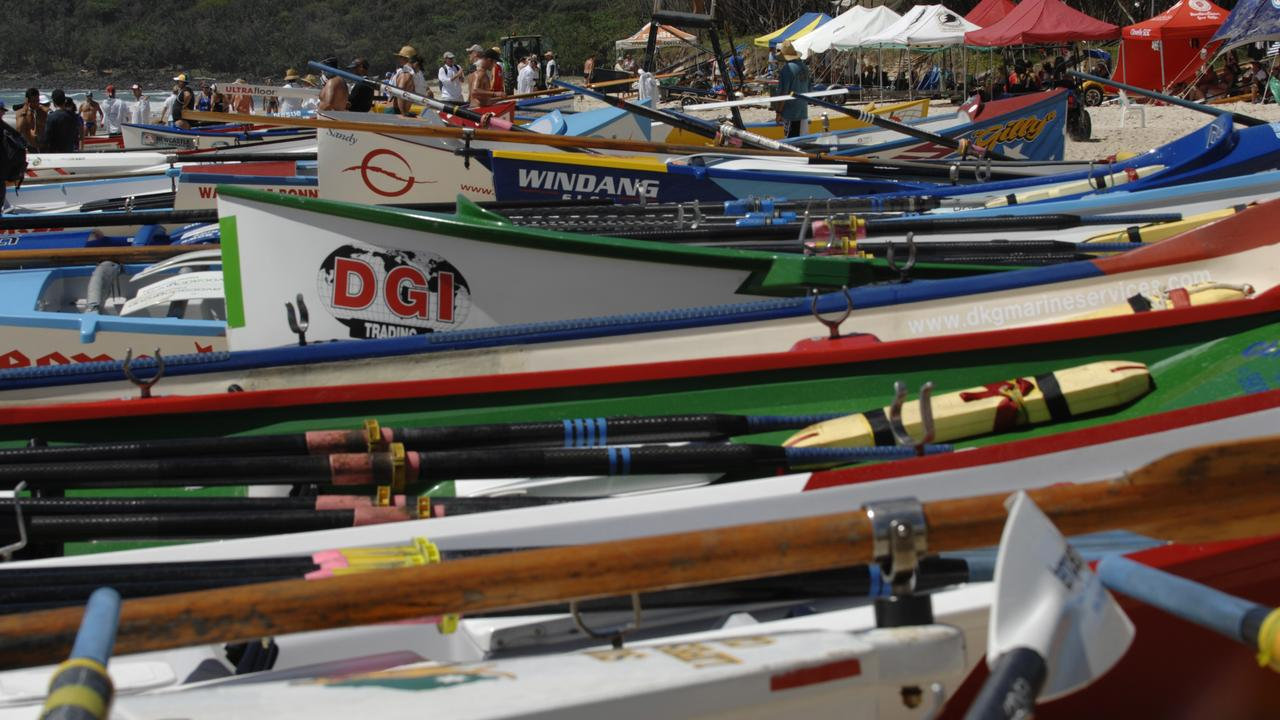 Surf boats will head to Mooloolah River for the first Wharf Mooloolaba Super Sprint.