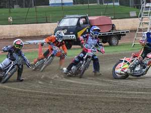 Engines revved at the Kingaroy Speedway