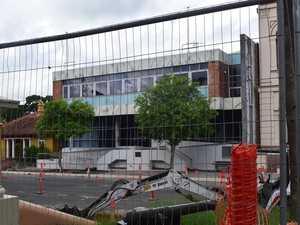 Council head quarters demolition underway in Maryborough