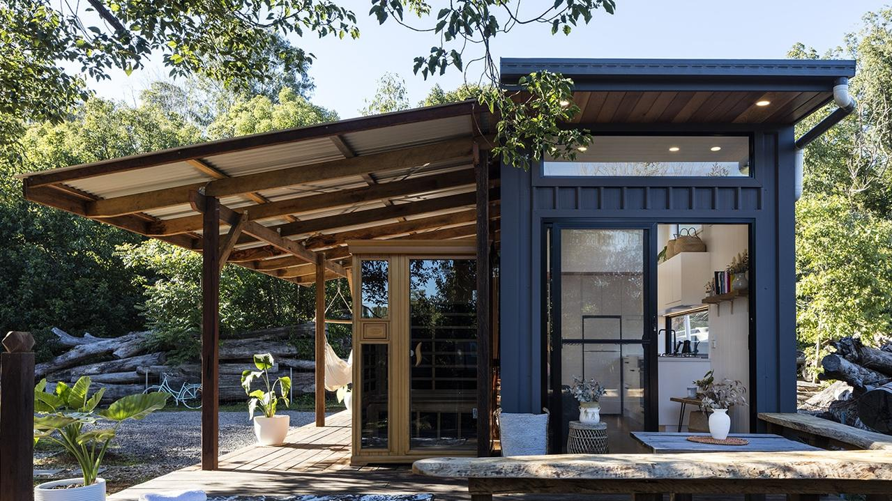 Downsizing your lifestyle doesn't necessarily mean downsizing costs. Picture: Tiny Houses Australia