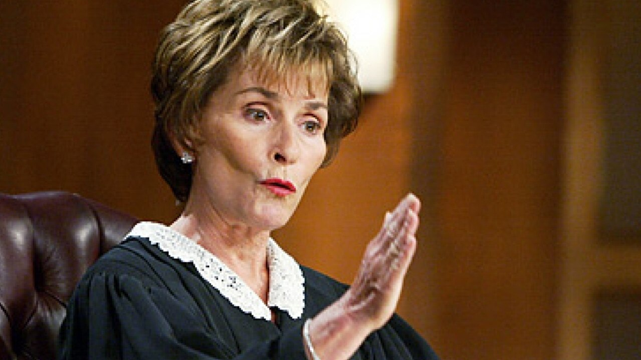 TV judge Judith Sheindlin from TV program 'Judge Judy'. Picture: Supplied.