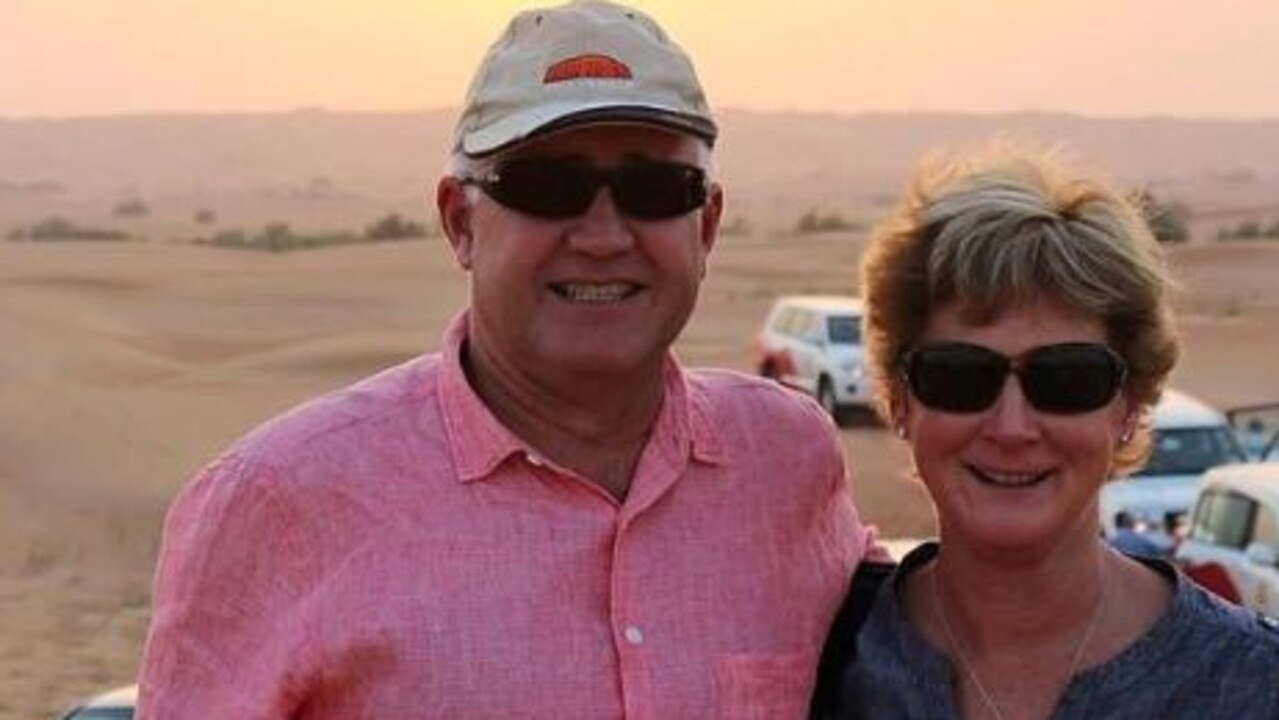 Alistair and his wife Melinda were enjoying their holiday at their beach house in Victoria last year when the shock incident took place. Picture: 7 News