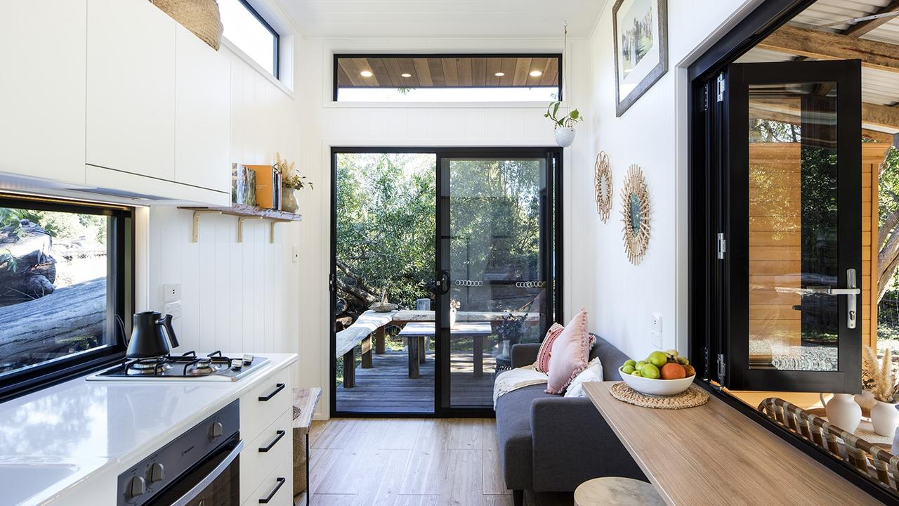 Smaller houses can offer greater sustainability. Picture: Tiny Houses Australia.
