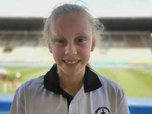 Ten year old local girl chases her sporting dreams