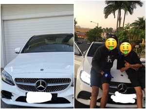 Gang members gloat about stealing footy star's car