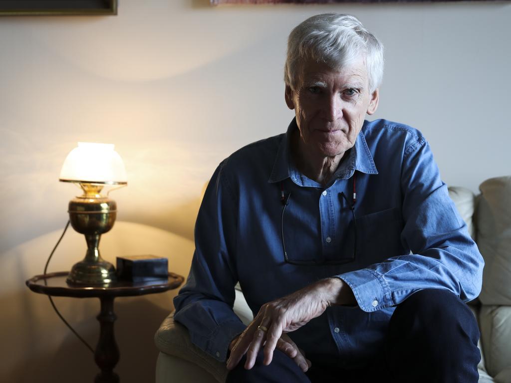 Australian playwright David Williamson.
