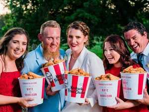 Toowoomba couple finds original recipe for love - KFC