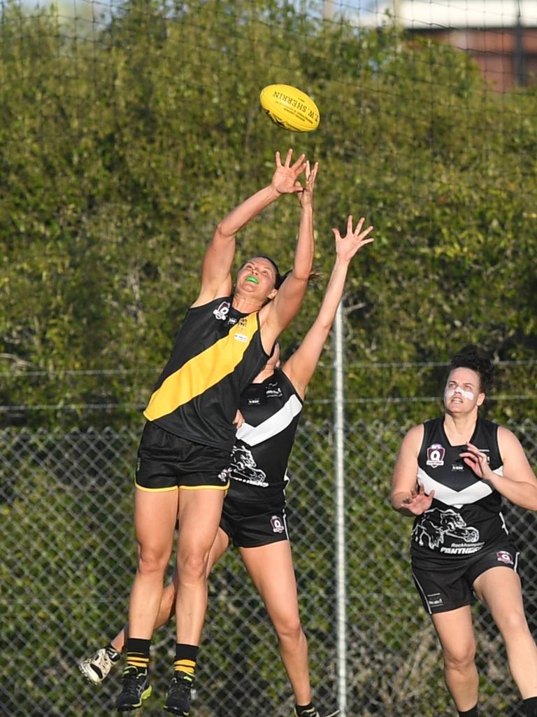 AFL CHALLENGE CUP: Rockhampton Panthers vs Bakers Creek Tigeress