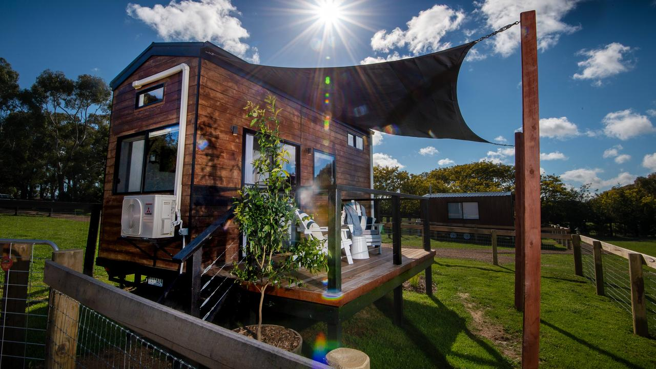 There are a lot of pros and cons to tiny houses. Picture: Jay Town