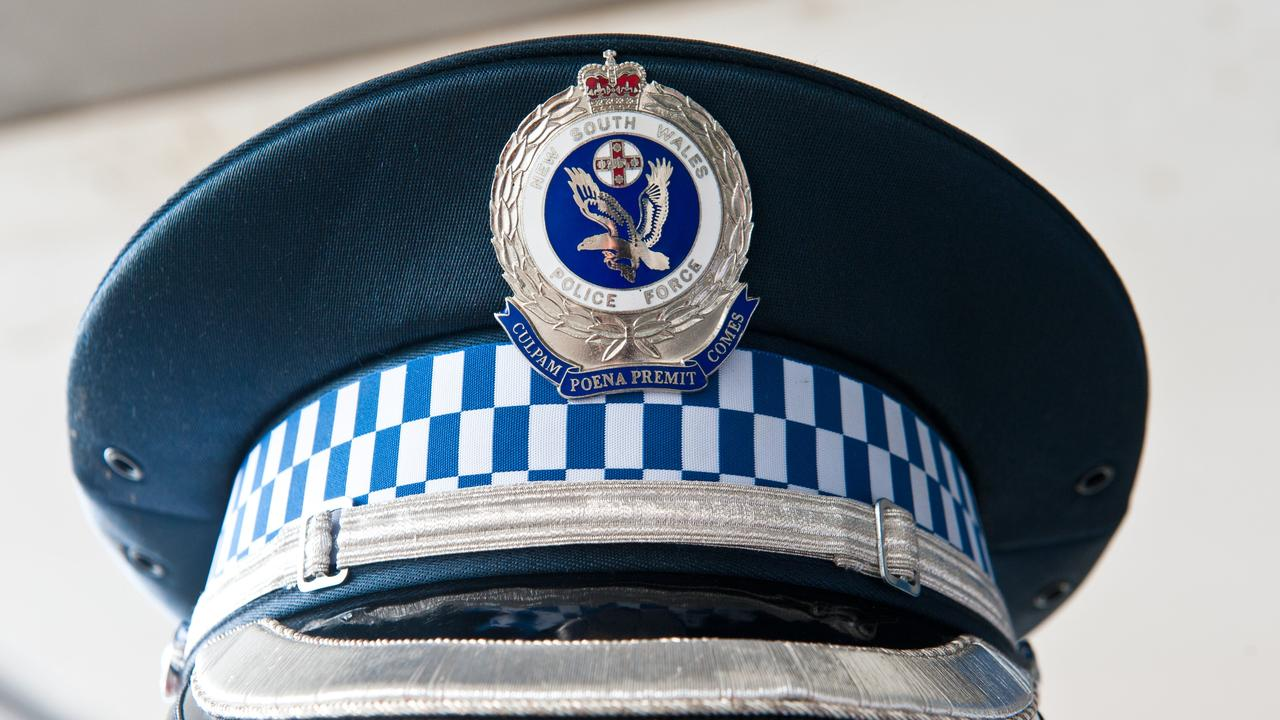 Police in operation Unite. Police hat.