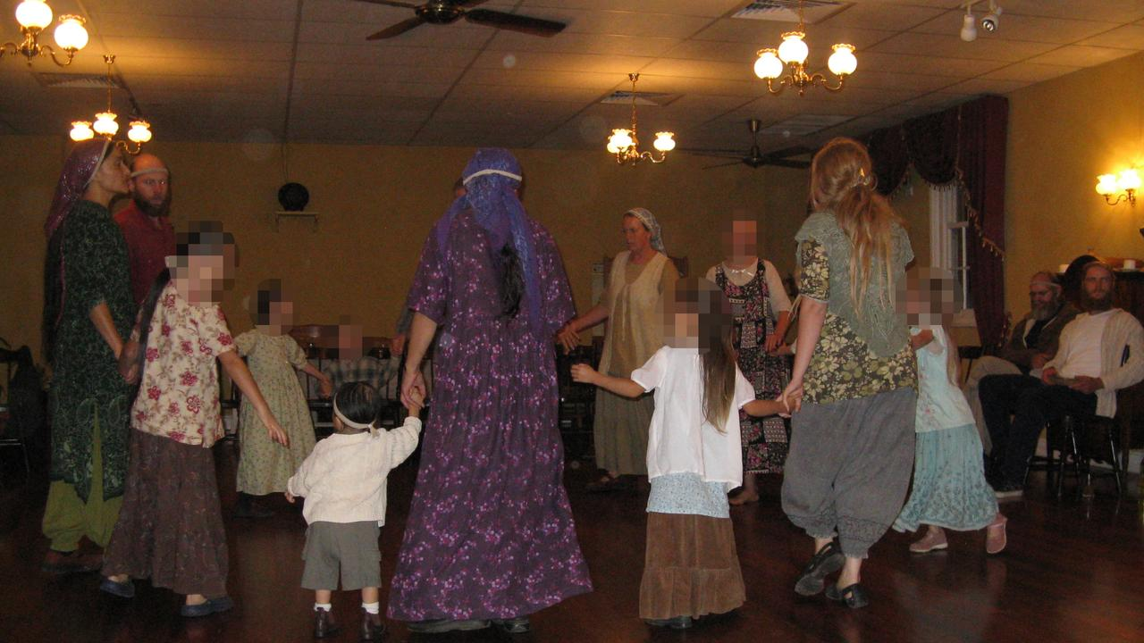 The Twelve Tribes sect is known for its harsh discipline of children. Picture: Supplied