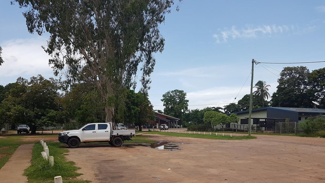 Aurukun was deserted following riots on New Year's Day