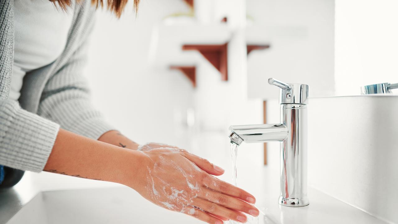 Washing your hands properly is one the best ways to protect yourself from the virus. Picture: Supplied