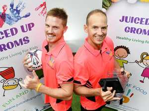 Brothers-in-law get Juiced-Up for new health show